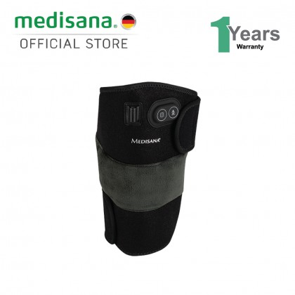(Bundle) Medisana Knee Wrap Massager + Medisana M2 Mobile Relaxer Massager (Black/ Grey)