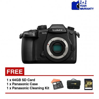 Panasonic Lumix G DC-GH5 Mirrorless Camera (Body)