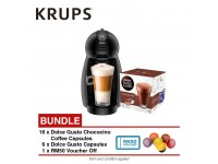 Krups KP100B65 NDG Piccolo (6 Assorted Capsules + 16 Chococino Capsules)