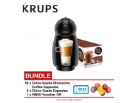 Krups KP100B65 NDG Piccolo (6 Assorted Capsules + 96 Chococino Capsules)