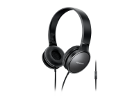 Panasonic RP-HF300M Street Fashion Headphones (Black)
