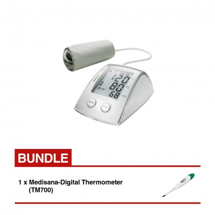 Medisana MTX Blood Pressure Monitor Bundle TM700 Thermometer