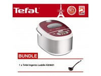 Tefal Rice Cooker Spherical Pot 1.8L RK8105 + K20601 Ladle