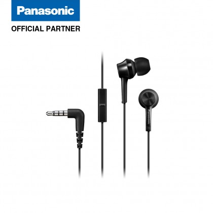Panasonic RP-TCM115 In-Ear Headphones (Black/ Blue/ Pink/ White)