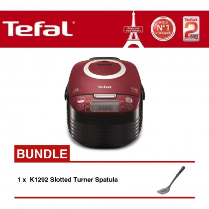 Tefal RK7405 Spherical Pot Rice Cooker + K1292 Slotted Turner Spatula