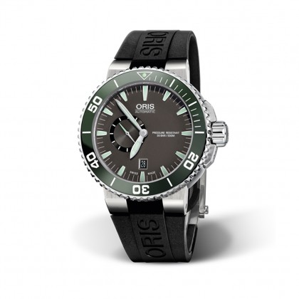 ORIS Aquis 46mm Small Second Date Automatic Watch