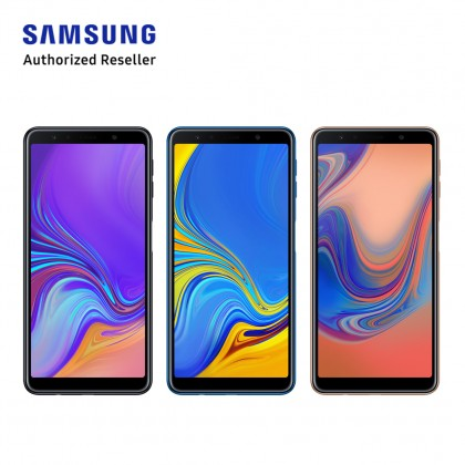 Samsung Galaxy A7 (2018) A750 128GB (Black/ Blue/ Gold)