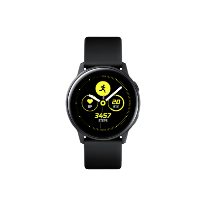 Samsung Galaxy Watch Active (R500) (Black/ Gold/ Silver ) - Smart Watch