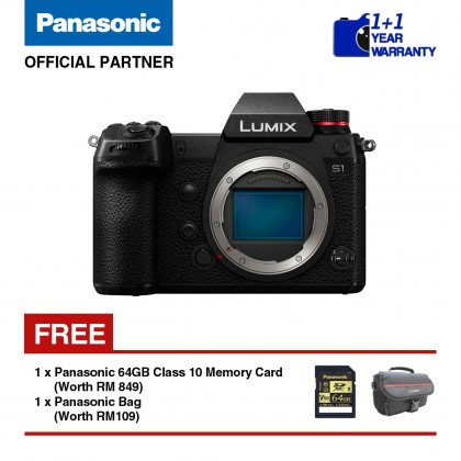 Panasonic Lumix S DC-S1GA Mirrorless Digital Camera (Body Only)