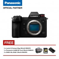 (Pre-Order) Panasonic Lumix S DC-S1GA Mirrorless Digital Camera (Body Only) (Shipment Date : 20th May 2019)