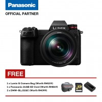 (Pre-Order) Panasonic Lumix S DC-S1RMGA Mirrorless Digital Camera with 24mm - 105mm Lens Kit (Shipment Date : 20th May 2019)