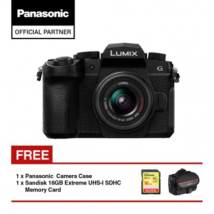 Panasonic Lumix DC-G95 Mirrorless Digital Camera with 14mm - 42mm Lens