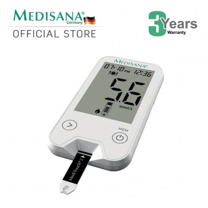 MediTouch 2 Test Strips of 100 pieces FOC Medisana MediTouch 2 Glucose Monitor