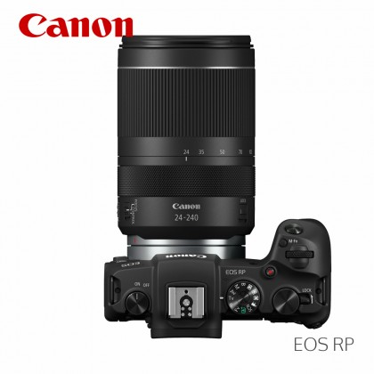 Canon EOS RP with RF 24-240mm f/4-6.3 IS USM Lens (Free 64GB SD Extreme Pro Card)